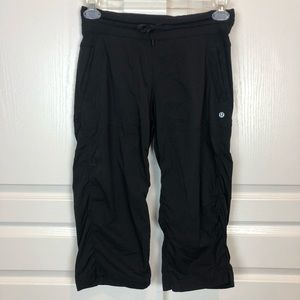Lululemon Studio Crop Pants Black Size 6